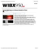 WIBX 7/22/14