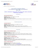 Discipline Summary 6/97